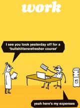 Bullshitters Refreshers Card