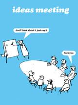 Ideas Meeting Card