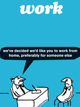 Work From Home Card