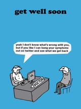 Twitter Symptoms Card