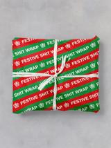 Festive Shit Gift Wrap