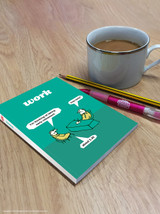 Early Retirement A6 Notebook / Notepad