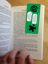 Partially Obscure Magnetic Bookmark