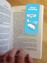 Ideas Meeting Magnetic Bookmark