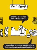 Dogs Pet Shop Card