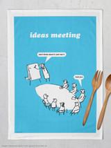 Ideas Meeting Tea Towel