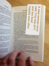 A Wise Woman Magnetic Bookmark