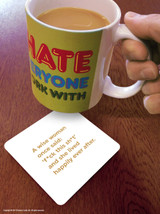 A Wise Woman Coaster