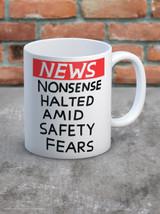 David Shrigley Nonsense Halted Boxed Mug