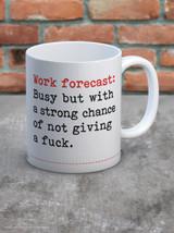 Work Forecast Boxed Mug