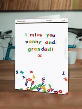 Miss You Nanny Grandad