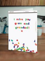 Miss You Gran Grandad