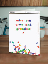 Miss You Gran and Grandad