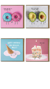 Pack of 10 Funny Greeting Cards - Mixed Designs
