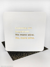 Commas Are Important (Gold Foiled) Birthday Card