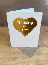 Thinking Of You (Gold Foiled)