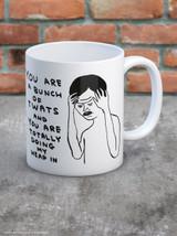 David Shrigley Bunch Of Twats Boxed Mug