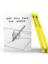 ART001 ART WILL SAVE THE WORLD SKETCHBOOK