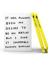 ART002 Be An Artist Sketchbook David Shrigley