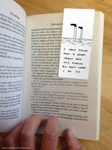 David Shrigley Pudding Magnetic Bookmark