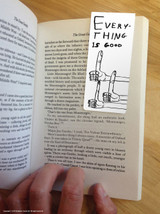 David Shrigley Everything Is Good Magnetic Bookmark
