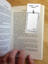 David Shrigley Don't Look Down Magnetic Bookmark