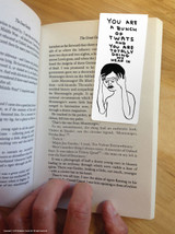 David Shrigley Bunch Of Twats Magnetic Bookmark