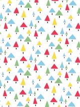 Christmas Trees - Emily Burningham Xmas Gift Wrap