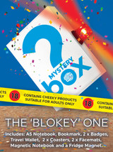 Mystery Bargain Box (Blokey Box Rude Edition) £25 Of Goodies For Just £10