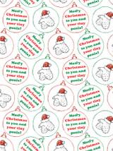 Christmas Tiny Penis Gift Wrap