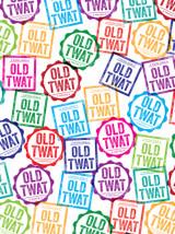 Old Twat Gift Wrap