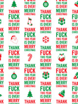 Year Is Over Gift Wrap