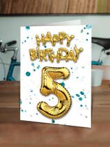 5th Birthday Blue