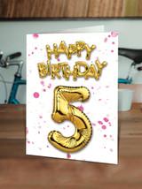 5th Birthday Pink
