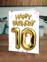 10th Birthday Pink