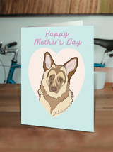 German Shepherd Mother's Day