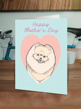Pomeranian Mother's Day