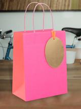Luxury Pink Medium Gift Bag