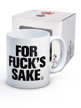 For Fucks Sake Modern Toss Boxed Mug