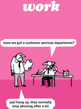 Customer Services Card