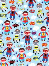 Superheroes Gift Wrap