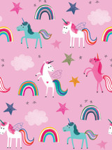 Unicorns and Rainbows Gift Wrap