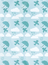 Rainy Day - Gift Wrap By Rosehip Cards