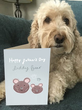 Cute 'Daddy Bear' Father's Day Card