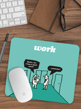 A Quick Word Mouse Mat Pad