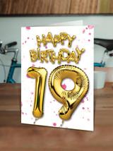 19th Birthday Pink
