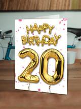 20th Birthday Pink
