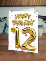 12th Birthday Pink