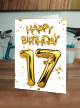 17th Birthday Gold