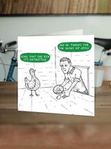 Shitrotten Egg Card